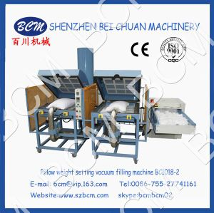Pillow Weight Setting Vacuum Filling & Fiber Carding Machine pictures & photos