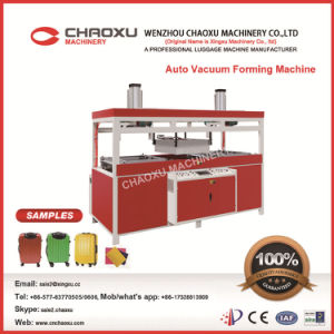 Automatic Plastic Vacuum Thermoforming Machine for Luggage pictures & photos