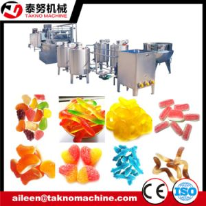 Full Automatic Depositing Gummy Candy Line pictures & photos