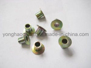 Fully Tubular Clutch Rivet Zinc Plated Clutch Facing Rivet pictures & photos