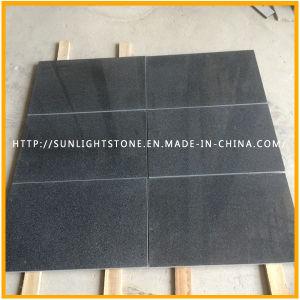 Natural Honed G654 Black/Dark Grey Granite Floor/Flooring/Wall Tiles pictures & photos