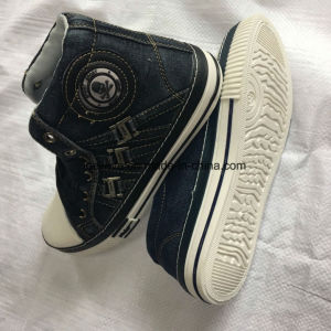 Denim Fabric Upper of Vulcanized Shoe Seris