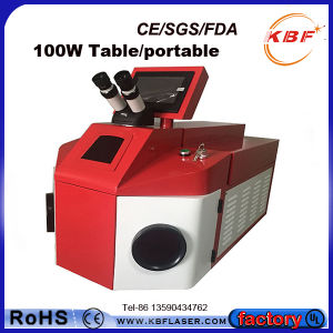 80W Mini Jewelry Laser Welder for Bracelet Rings Glasses pictures & photos