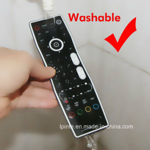 Healthcare Clean Waterproof IP67 TV Remote Control for Hotel Hospital pictures & photos