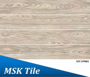 150X900 Full Polished Glaze Wook-Look Tile My159001 pictures & photos