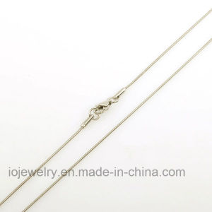 Custom Sterling Silver Snake Chain Necklace pictures & photos