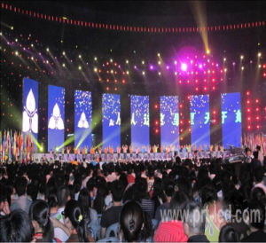 Full Color Video LED Display Screen with Rental Panel 640*640 mm (P5, P6.67, P8) pictures & photos