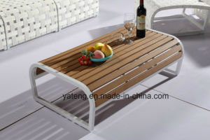 Simple Design Euro Popular Outdoor Patio Sofa Set with Rope &Aluminum Frame (YT996) pictures & photos