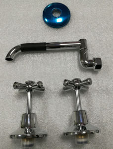 Watermark Wall Mounted Chrome Finished Laundry Tap (SL3080WA) pictures & photos