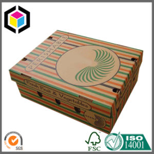 Detachable Lid 5kg Cherry Corrugated Packaging Box pictures & photos