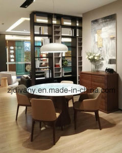 Modern Style Dining Room Marble Table (E-23) pictures & photos