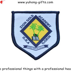 Overlock Edge College School Badge for Garment (YH-WB037) pictures & photos