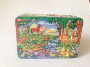 Cheap Christmas Cake Tin Custom Printed Cosmetic Boxes pictures & photos