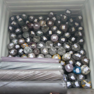 PVC Leather Stock Lot PVC Furniture Leather Stocklot for Sofa pictures & photos