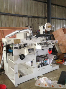 Flexo Printing Machine with One Rotary Die Cutting Station pictures & photos