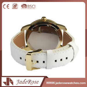 Factory Custom Fashion Simple Leather Watch pictures & photos