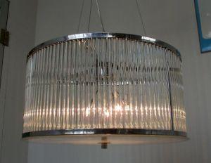 Modern Iron Framework Glass Pendant Lighting (8046-6) pictures & photos