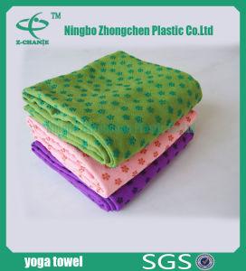Bath Towel Yoga Towel Anti-Slip Microfiber Yoga Towel pictures & photos
