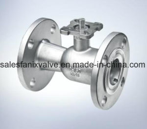 as Flanged Ball Valve (FLOATING BALL) pictures & photos