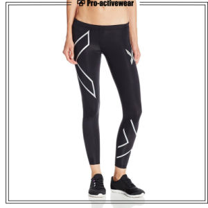 Wholesale Sports Compression Fitness Men Gym Pants pictures & photos