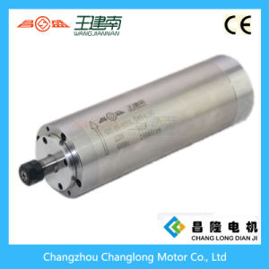 Manufactre 800W 4 Bearing Water Cooled High Speed Three Phase Asynchronous Spindle Motor for Wood Carving CNC Router pictures & photos