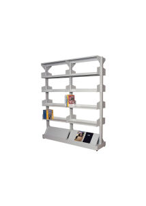 Steel Book Rack Office Furniture with Adjust Shelves /Library Book Rack for Austrilia Market pictures & photos