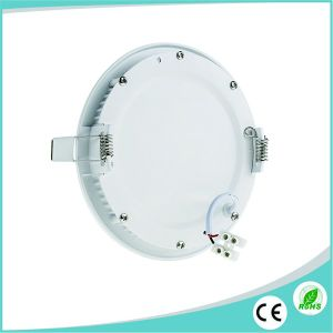 12W AC85-265V Ultra Slim LED Round Panel with Ce/RoHS Approved pictures & photos
