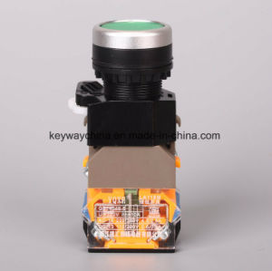 Keyway 22mm Illuminated Push Button Switch (LA118MLN) pictures & photos