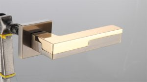 Hot Zinc Alloy Door Lock Handle (Z0-22269 AB22K) pictures & photos