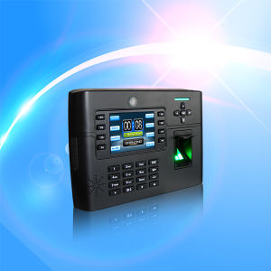 Wireless WiFi GPRS Fingerprint Access Control System and Time Attendance with Camera (TFT900) pictures & photos
