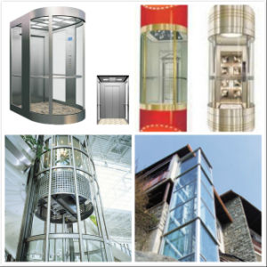 Semi Circular Panoramic Elevator/Lift pictures & photos
