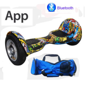 Electric Scooter Hoverboard 10inch Smart Balance Scooter Electric Skateboard Electric Scooter pictures & photos