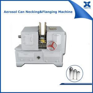 Automatic Round Tin Can Flanging Necking Machine pictures & photos
