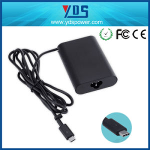 65W 20V3.25A/15V3a/9V3a/5V3a Type-C Charger Adapter for DELL pictures & photos