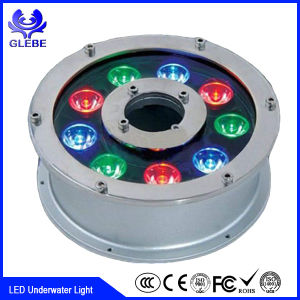 Aluminum 36W IP68 4 Wire and 3 Loop RGB LED Underwater Light pictures & photos