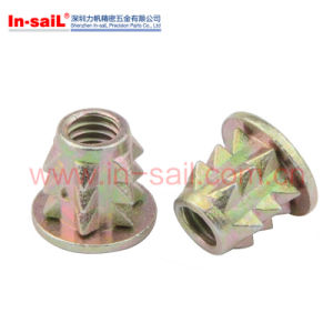 Wholesale Furniture Wood Insert Nut Shenzhen Factory pictures & photos