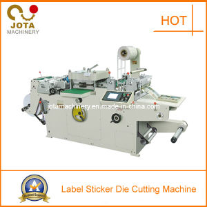 Automatic Adhesive Label Die Cutting Machine pictures & photos