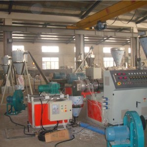 Sj120/28 Soft PVC Pelletizing Line (300KG/H) , Plastic Machinery-PP Granulating Line pictures & photos