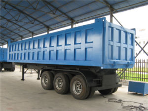 Hyva Lifting Tipper Trailer pictures & photos