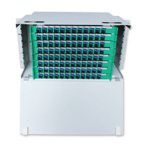 24-144 Core Rack Mounted Cold-Roll Steel Fiber Optic ODF pictures & photos