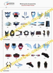 Motorcycle Accessories -Motorcycle Lamp Set & Plastic Products (LINGYING, SUZUKI)