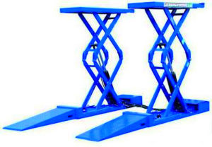 3.2tons Small Platform Scissor Car Lift (CE and ISO) (DSLS607) pictures & photos