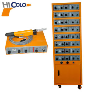 Automatic Powder Coating Machines with 8 PCS Conroller Cabinet pictures & photos