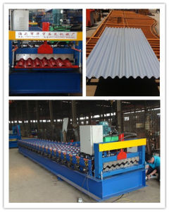 780 Corrguated Sheet Roll Forming Machine pictures & photos