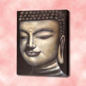 Buddha Canvas Oil Painting (RE 10005 A)