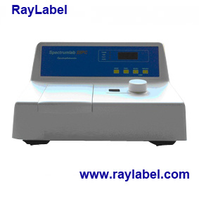 Spectrophotometer, Laboratory Equipments, Laboratory Instrument, Visible Spectrophotometer for Analysis Instrument (RAY-S22) pictures & photos
