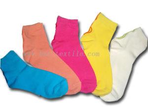 Lady Plain Socks pictures & photos