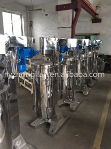 Gq105j High Speed Liquid Solid Separation Plant Oil Centrifuge Machine pictures & photos