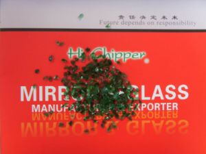 Crushed Green Glass Granule pictures & photos
