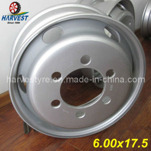 6.00X17.5 6 Hole Steel Wheels pictures & photos